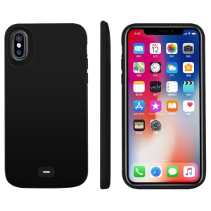 5000mAh External Battery Charger Case for Apple iPhone X - Black