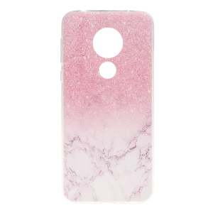 Pink Glitter and Marble