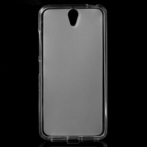 Double-sided Frosted TPU Case for Lenovo Vibe S1 - Transparent