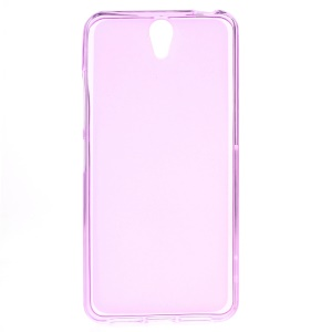 Double-sided Frosted TPU Gel Case for Lenovo Vibe S1 - Pink