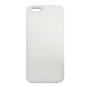 MAXNON M5 2200mAh External Battery Case MFI Certified for iPhone SE/5S/5 - White