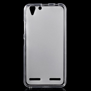 Double-sided Frosted TPU Case for Lenovo Vibe K5 / K5 Plus - Transparent