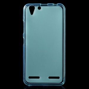 Double-sided Frosted TPU Cover for Lenovo Vibe K5 / K5 Plus - Blue