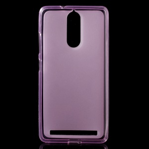 Double-sided Matte TPU Phone Case for Lenovo K5 Note - Pink