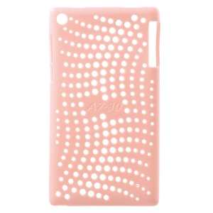 Hollow TPU Back Case Cover for Lenovo Tab 2 A7-30 - Pink