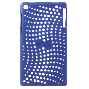 Hollow TPU Protective  Back Case Cover for Lenovo Tab 2 A7-30 - Dark Blue