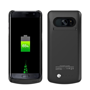 5000mAh Battery Charger Case for Samsung Galaxy S7 edge G935 (CE FCC RoHS) - Black