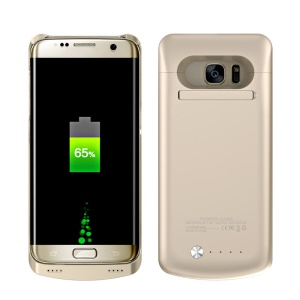 5000mAh Battery Charger Cover for Samsung Galaxy S7 edge G935 (CE FCC RoHS) - Gold