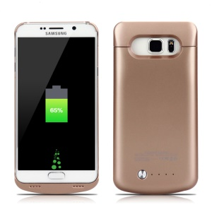 4200mAh Battery Charger Case for Samsung Galaxy Note5 SM-N920 - Gold