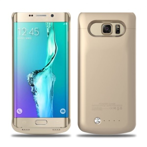 4200mAh  Backup Battery Case for Samsung Galaxy S6 edge Plus G928 (CE FCC RoHS) - Gold