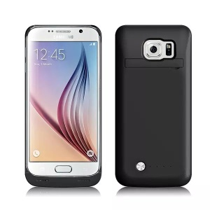 4200mAh Battery Charger Case for Samsung Galaxy S6 G920 - Black