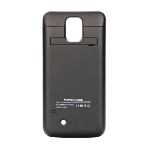 3800mAh External Battery Charger Case for Samsung Galaxy S5 G900 - Black
