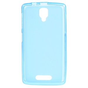 Matte TPU Protective Case for Lenovo A1000 - Blue
