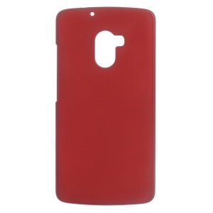 Rubberized Hard Shell Case for Lenovo A7010 / Vibe X3 Lite / K4 Note - Red