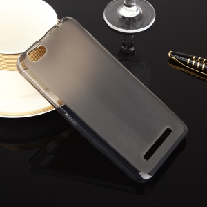 Dual-sided Matte Gel TPU Cover Case for Lenovo Vibe C A2020 - Grey