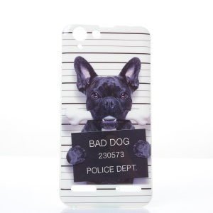 Soft IMD TPU Case for Lenovo Vibe K5 Plus / Vibe K5 - Bad Dog