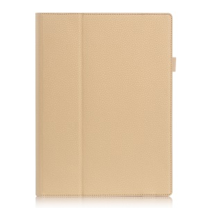 Card Holder Flip Leather Stand Case Cover for Lenovo Ideapad Miix 700/Miix 4 - Gold