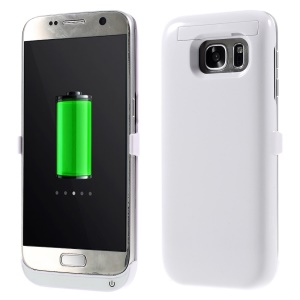 3100mAh External Battery Charger Case for Samsung Galaxy S7 G930 - White