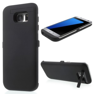 4000mAh External Battery Charger Case for Samsung Galaxy S7 edge G935 - Black