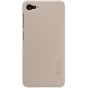 NILLKIN Super Frosted Shield Plastic Cover for Lenovo ZUK Z2 with Screen Film - Gold