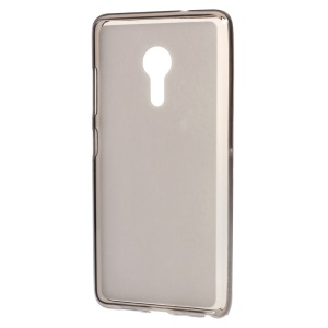 Dual-sided Frosted TPU Back Cover Case for Lenovo ZUK Z2 Pro - Grey