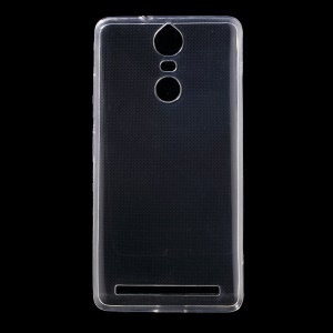 Super Thin TPU Phone Back Case Cover for Lenovo K5 Note - Transparent