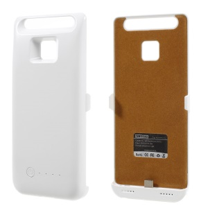 3800mAh Battery Charger Case for Huawei P9 - White