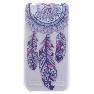Patterned TPU Gel Case for Lenovo Vibe K5 / Vibe K5 Plus - Tribal Dreamcatcher