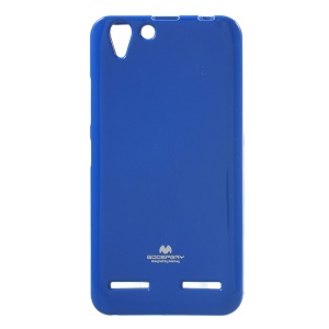 MERCURY GOOSPERY Glitter Powder TPU Soft Shell for Lenovo Vibe K5 / Vibe K5 Plus - Blue