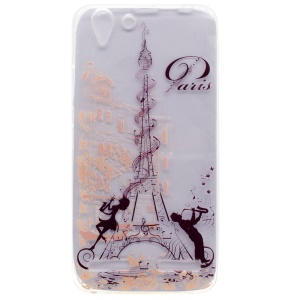 For Lenovo Vibe K5 / Vibe K5 Plus Pattern Painting Soft TPU Cell Phone Case - Eiffel Tower