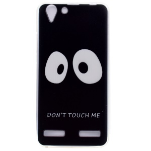 For Lenovo Vibe K5 / Vibe K5 Plus Patterned Soft TPU Mobile Phone Shell - Do not Touch Me