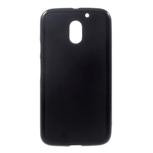 Double-sided Frosted TPU Case Phone Accessory for Motorola Moto E3 - Black