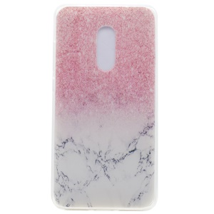 Pattern Printing TPU Shell Case for Lenovo K6 Note - Colorized Pattern