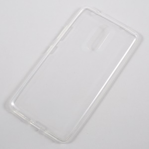 Ultra-thin Clear Soft TPU Cell Phone Cover for Lenovo K6 Note - Transparent