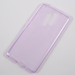 Ultra-thin Clear Soft TPU Phone Case Accessory for Lenovo K6 Note - Purple