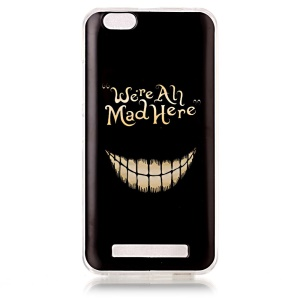 Pattern IMD TPU Mobile Case for Lenovo Vibe C A2020 - We are All Mad Here