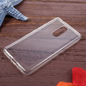 Glossy Clear TPU Mobile Phone Case for Lenovo K6 Note