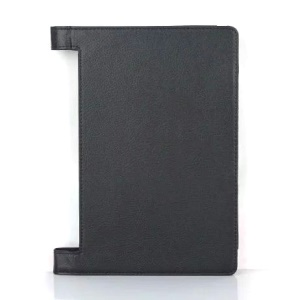 Lychee Texture PU Leather Tablet Case for Lenovo Yoga Tab 3 10 (10.1-inch) - Black