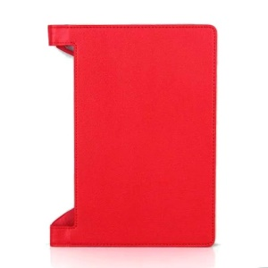 Lychee Texture PU Leather Cover Case for Lenovo Yoga Tab 3 10 (10.1-inch) - Red