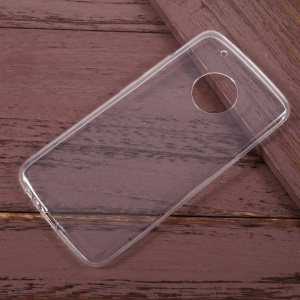 Ultrathin Clear Soft TPU Cell Phone Case for Motorola Moto G5 Plus - Transparent