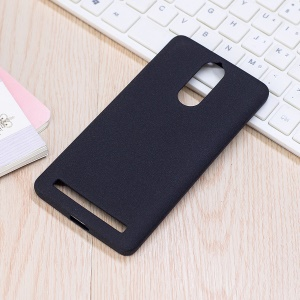 Skin-touch Soft TPU Case for Lenovo K5 Note - Black