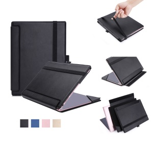 PU Leather Protective Case for Lenovo Yoga A12 Tablet and Keyboard - Black