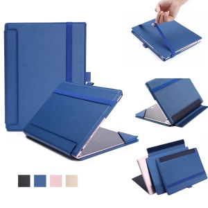 PU Leather Protection Cover for Lenovo Yoga A12 Tablet and Keyboard - Blue