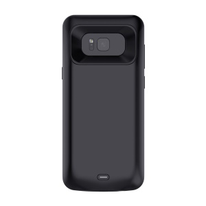 For Samsung Galaxy S8 Plus G955 External Battery Charger Case 5500mAh (CE/FCC) - Black
