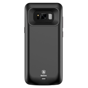 BASEUS CE/FCC/RoHS Protective Battery Case Charger for Samsung Galaxy S8 Plus G955 (5500mAh)- Black
