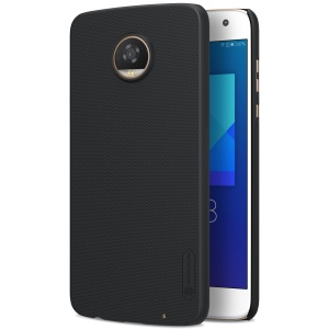 NILLKIN Super Frosted Shield Hard Plastic Casing for Motorola Moto Z2 Play - Black