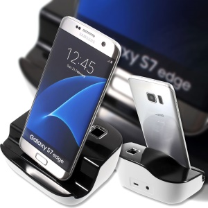 Micro USB Charging Dock Cradle with Audio Output for Samsung Galaxy S7/S7 edge Etc