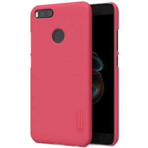NILLKIN Super Frosted Shield Hard PC Back Shell for Xiaomi Mi A1 / 5X - Red