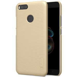 NILLKIN Super Frosted Shield Hard PC Back Casing for Xiaomi Mi A1 / 5X - Gold