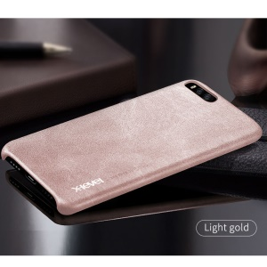 X-LEVEL Vintage Series Hard Phone Cover for Xiaomi Mi 6 (PU Leather + PC) - Brown